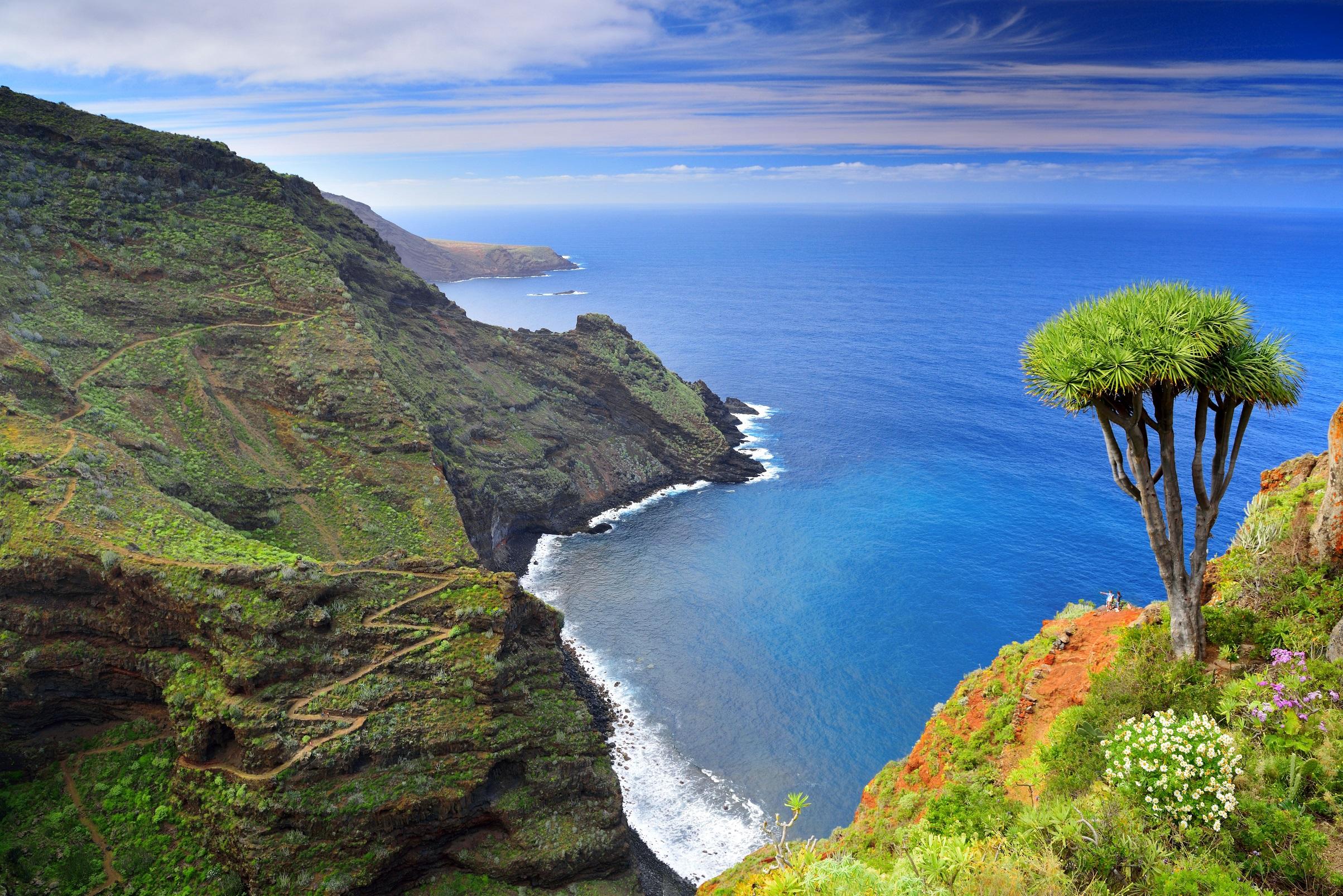 Besuchen Sie La Palma - Die Tablado - Santo Domingo de Garafía (Stufe GR 130)