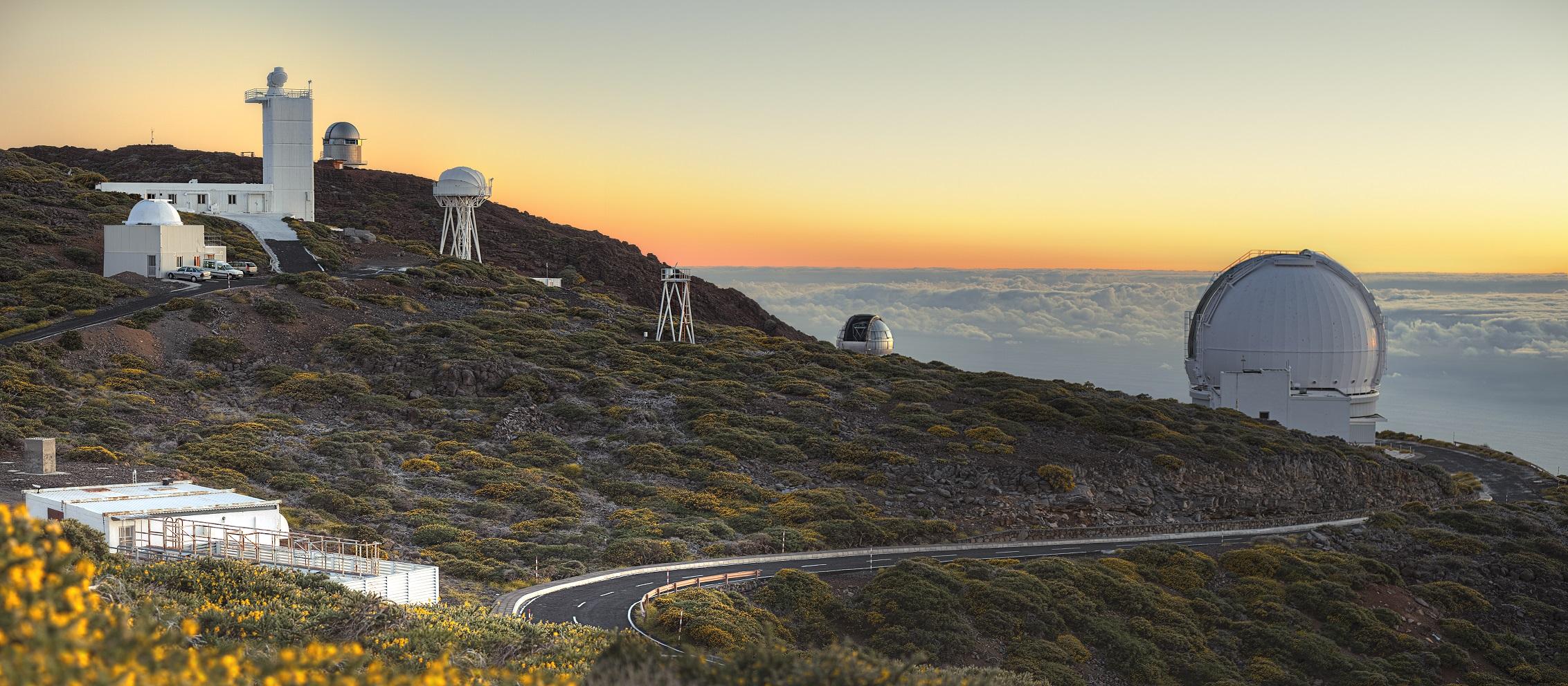 Besuchen Sie La Palma - Routen Roque de los Muchachos - West