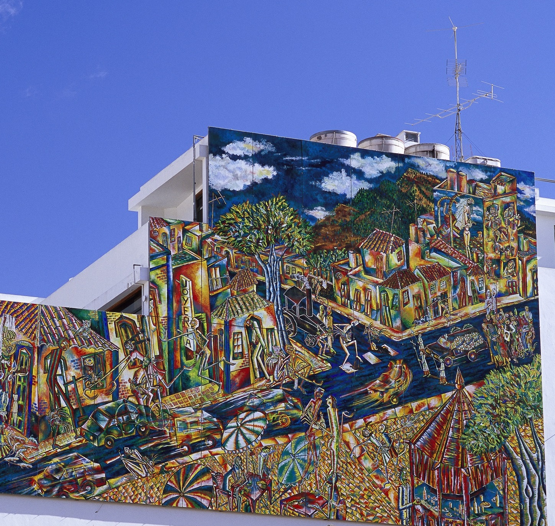 Besuchen Sie La Palma - Museum auf der Straße. Contemporary Art Forum