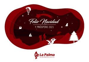 Visit La Palma: Feliz Navidad y próspero 2021 en La Palma