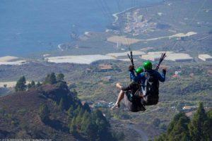Visit La Palma - Tandem Fly La Palma